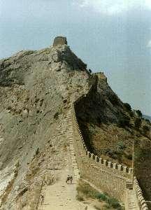 Стена Генуэзской крепости (Судак)