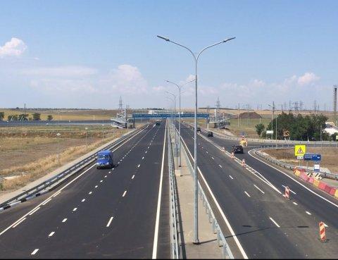 Открылось движение по 4 полосам Тавриды от Крымского моста до Белогорска!